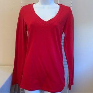 NWOT red long sleeve tshirt